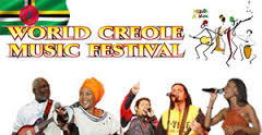 Lineup announced for Dominica's World Creole Music Festival 2014 1