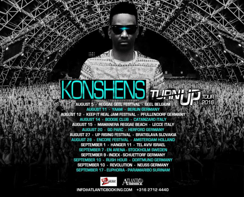Dancehall SuperStar Konshens In Demand