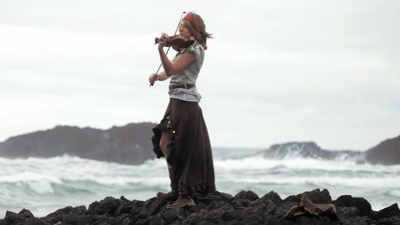 He's a Pirate (Disney's Pirates of the Caribbean Theme) Violin Cover - Taylor Davis 4