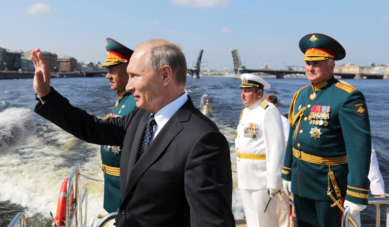 As Putin tests the waters, &c. 1