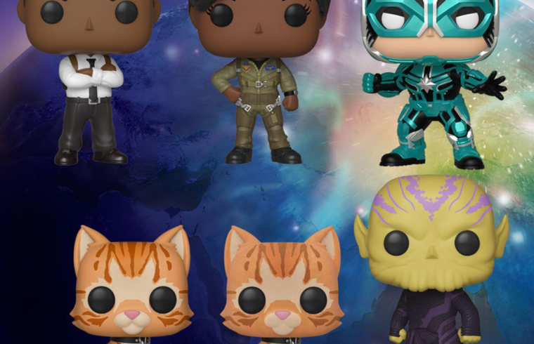 <em>Captain Marvel</em> Funko figures confirm Brie Larsons catty sidekick 1