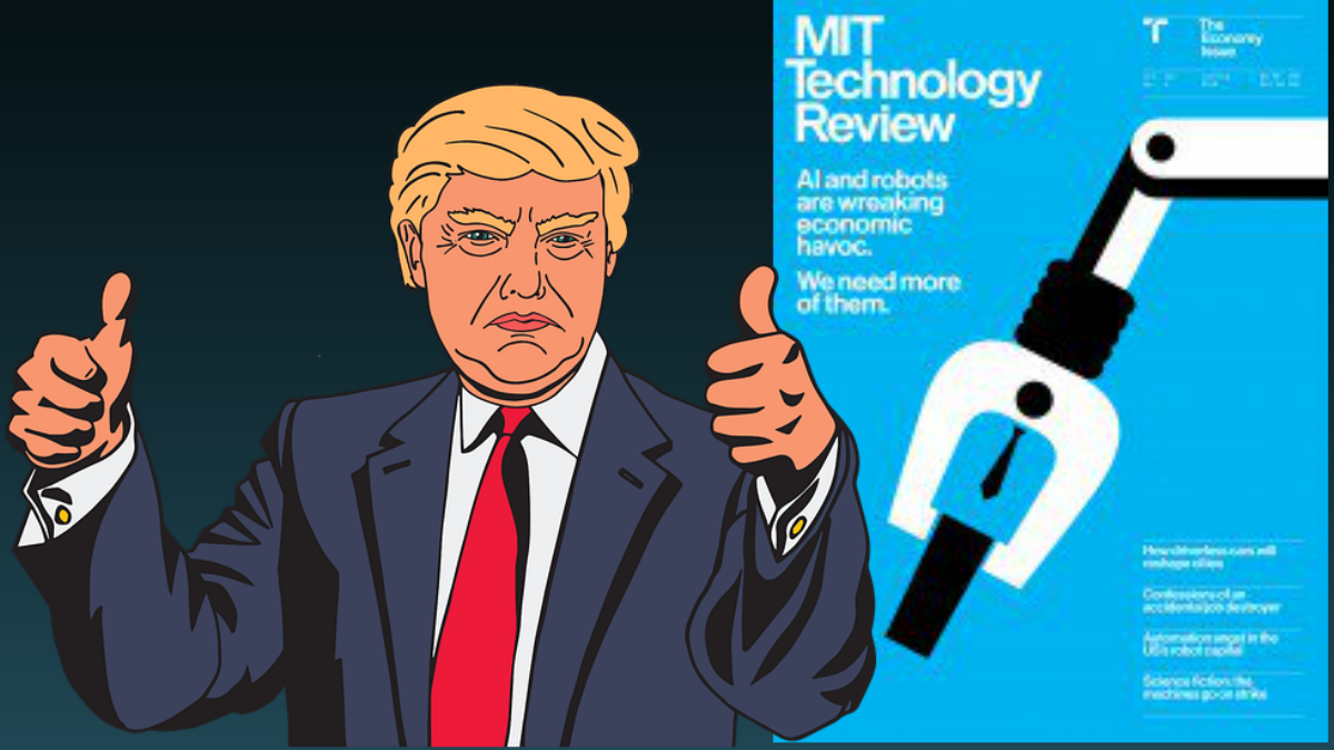 Why robots helped Donald Trump win -2016