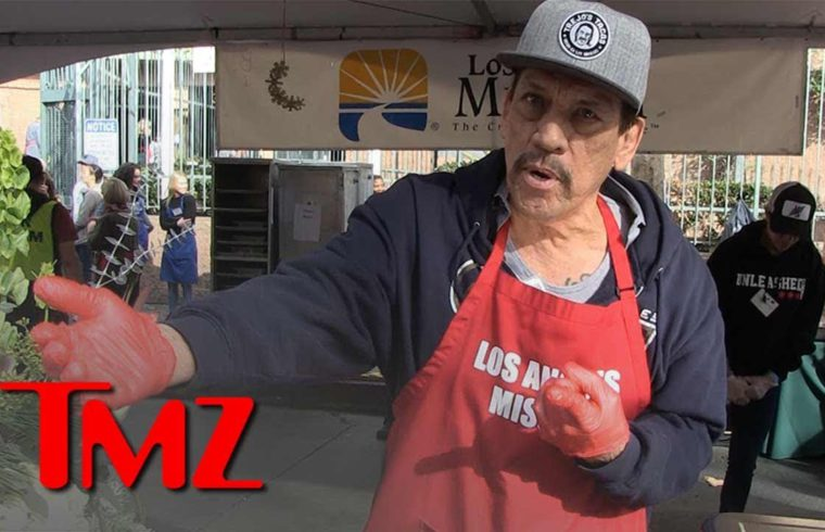 Danny Trejo Says Trump's Wall Plan is Futile, But Supports Improving Border Security | TMZ 1