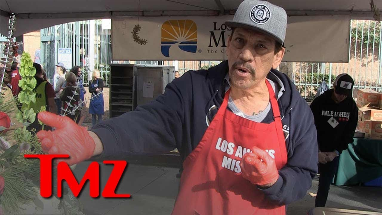 Danny Trejo Says Trump's Wall Plan is Futile, But Supports Improving Border Security | TMZ 5