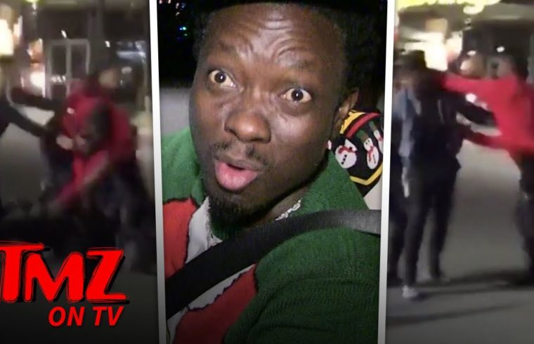 Comedian Gives Props To NFL Star For Not Fighting A Woman | TMZ TV 1