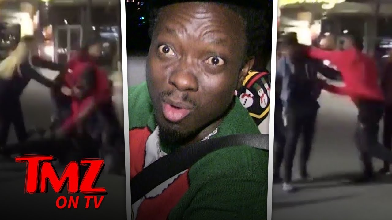 Comedian Gives Props To NFL Star For Not Fighting A Woman | TMZ TV 3