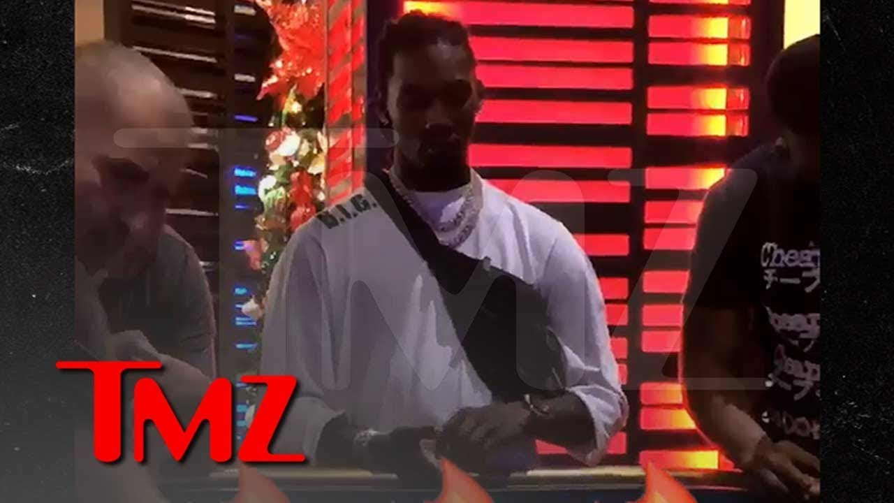 Offset Craps Out in Puerto Rico Without Cardi B | TMZ 5