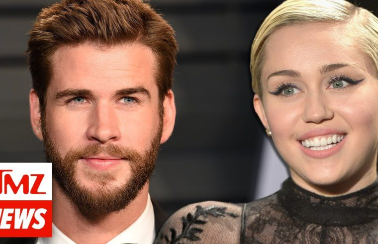 Miley Cyrus and Liam Hemsworth Appear to Be Married!!! | TMZ NEWSROOM TODAY 1
