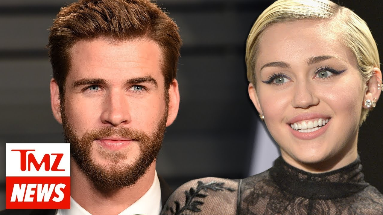 Miley Cyrus and Liam Hemsworth Appear to Be Married!!! | TMZ NEWSROOM TODAY 3