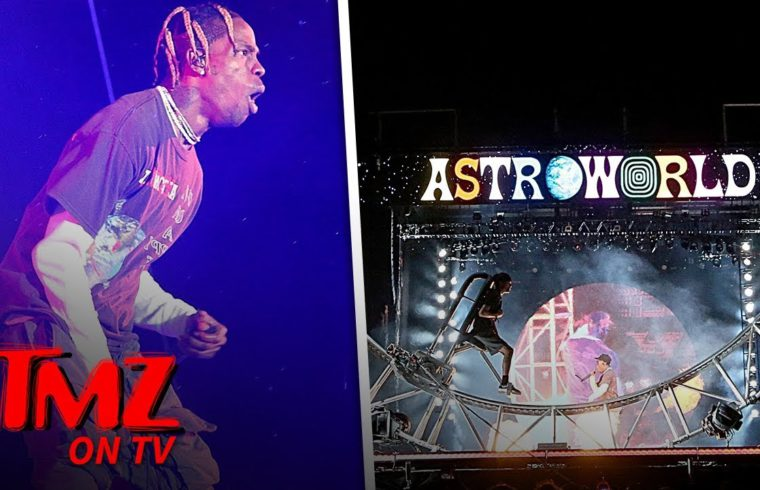 Travis Scott Is All About Business | TMZ TV 1