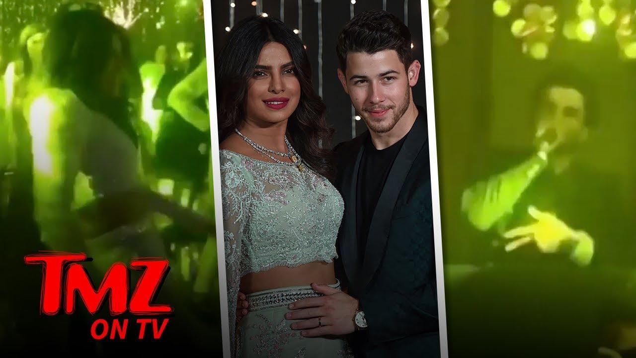 Priyanka Chopra and Nick Jonas Return To India To Party | TMZ TV 4