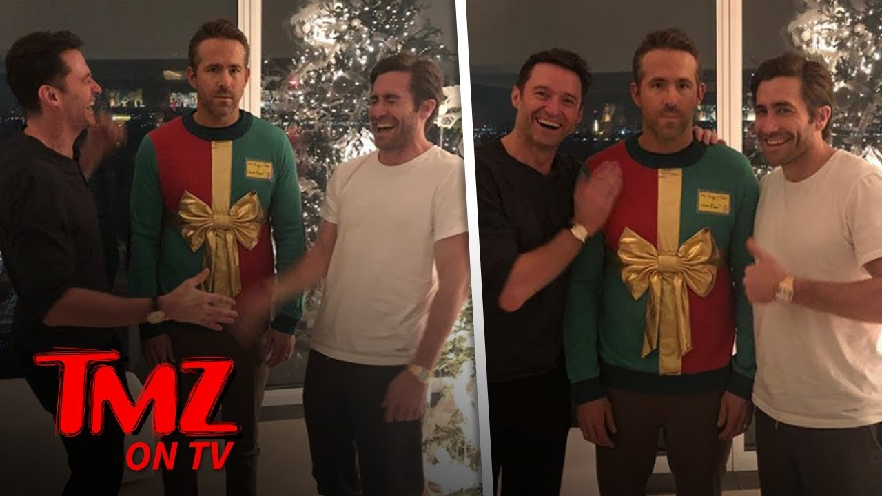 Hugh Jackman & Jake Gyllenhaal Play Ugly Prank On Ryan Reynolds | TMZ TV 3