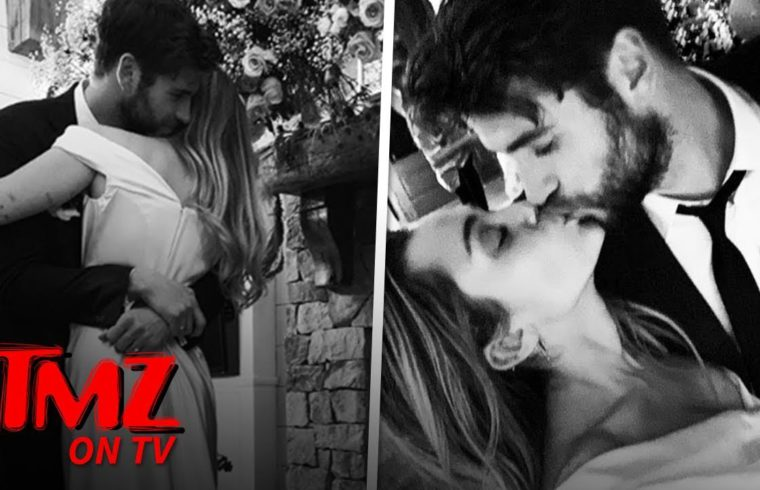Miley Cyrus and Liam Hemsworth Married! | TMZ TV 1