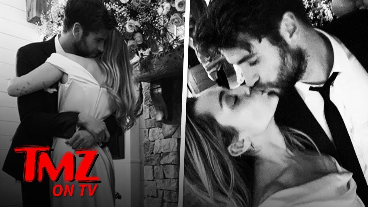 Miley Cyrus and Liam Hemsworth Married! | TMZ TV 3