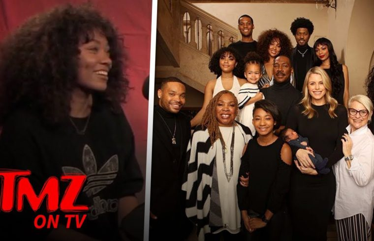 Eddie Murphy Sorrounded By Family | TMZ TV 1