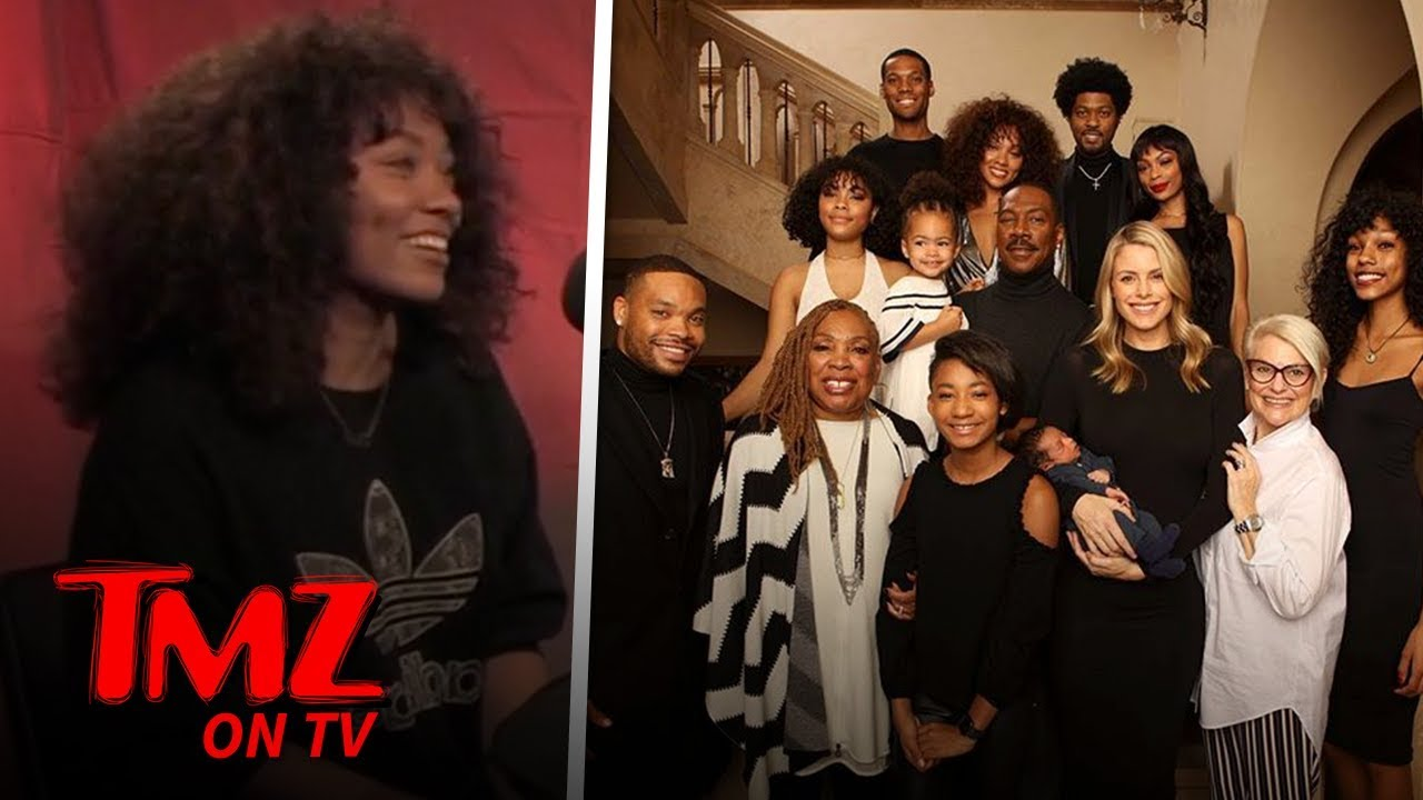 Eddie Murphy Sorrounded By Family | TMZ TV 3