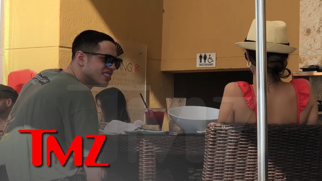 Pete Davidson Chats Up a Poolside Hottie in Miami to Round Out 2018 1