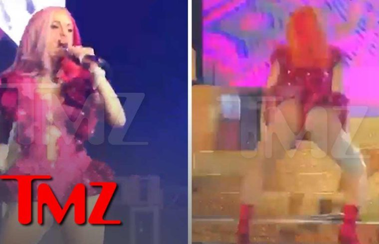 Cardi B Performs at Puerto Rico Concert and Offset is Right There | TMZ 1