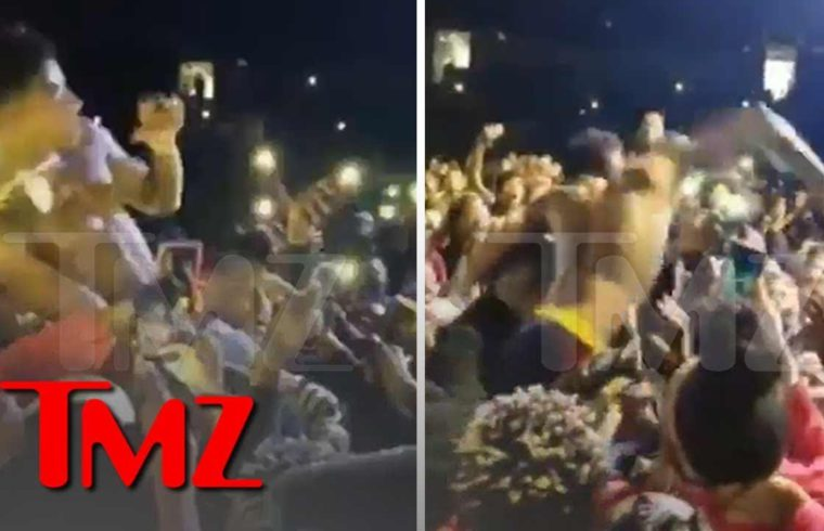 NBA YoungBoy Concert Erupts in Violence After Heckler Tried Stealing his Chain | TMZ 1
