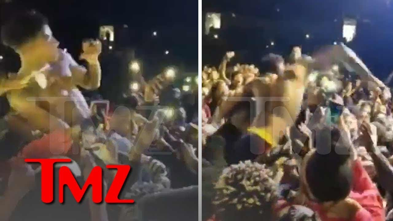 NBA YoungBoy Concert Erupts in Violence After Heckler Tried Stealing his Chain | TMZ 4