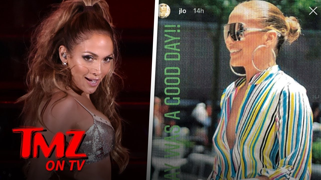 JLo Sued By Photographer For Using Pic He Took Of Her | TMZ TV 5