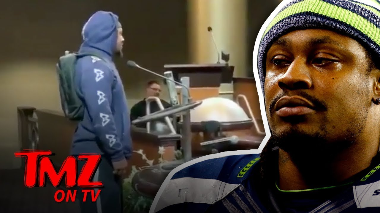 Marshawn Lynch Begs Oakland City Council To Not Lose The A's | TMZ TV 4