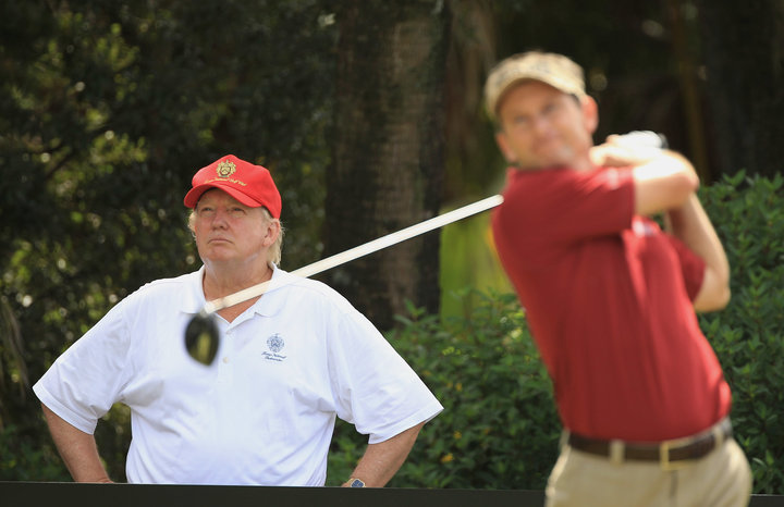 White House Nightmare: Trump Golfs While His Secret Service Agents Work Without Pay 1