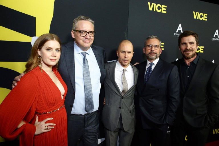 See Christian Bale, Amy Adams, and the stars of <em>Vice</em> at the films premiere 8