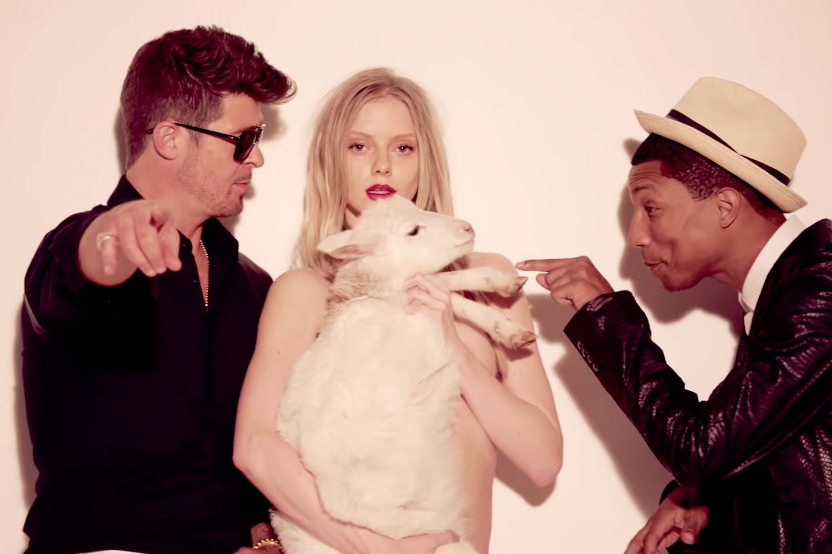 Blurred Lines copyright suit ends: Robin Thicke, Pharrell Williams to pay $5 million 6