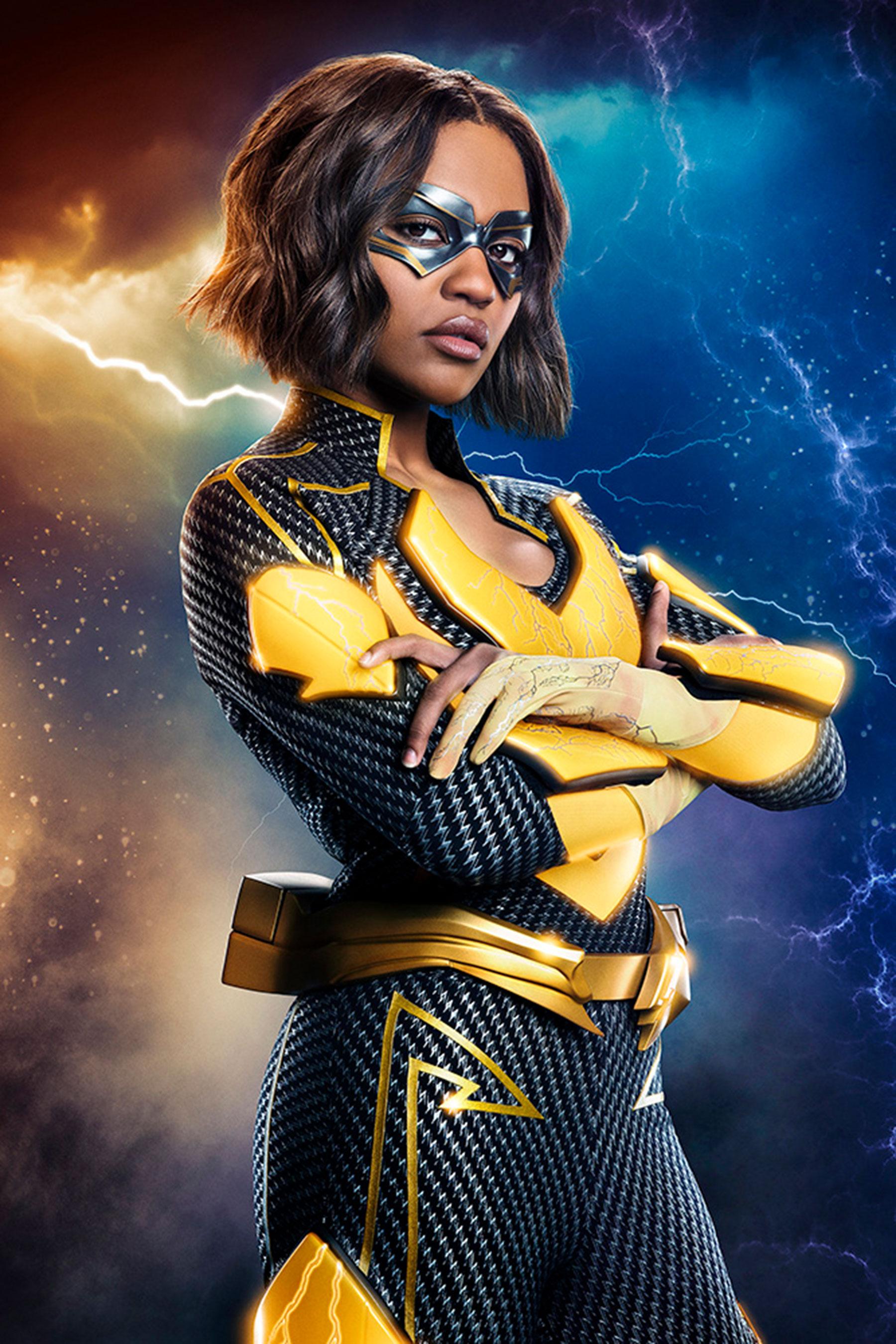 <em>Black Lightning</em> reveals first look at Jennifer suiting up as Lightning 2