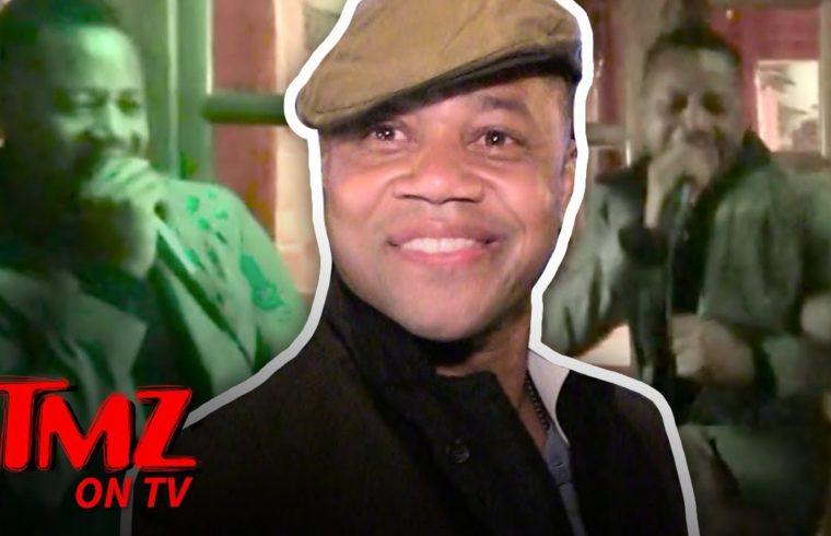 Cuba Gooding Jr. Gets His Karaoke On!   TMZ TV 1