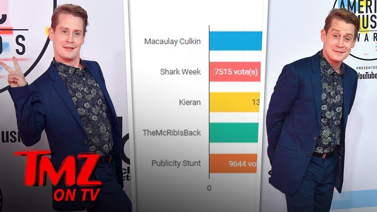 Macaulay Culkin Has An Interesting NEW Middle Name | TMZ TV 4