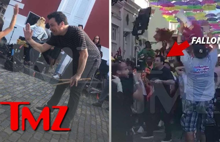 Jimmy Fallon Takes 'Tonight Show' to Puerto Rico to Aid in Relief Effort | TMZ 1
