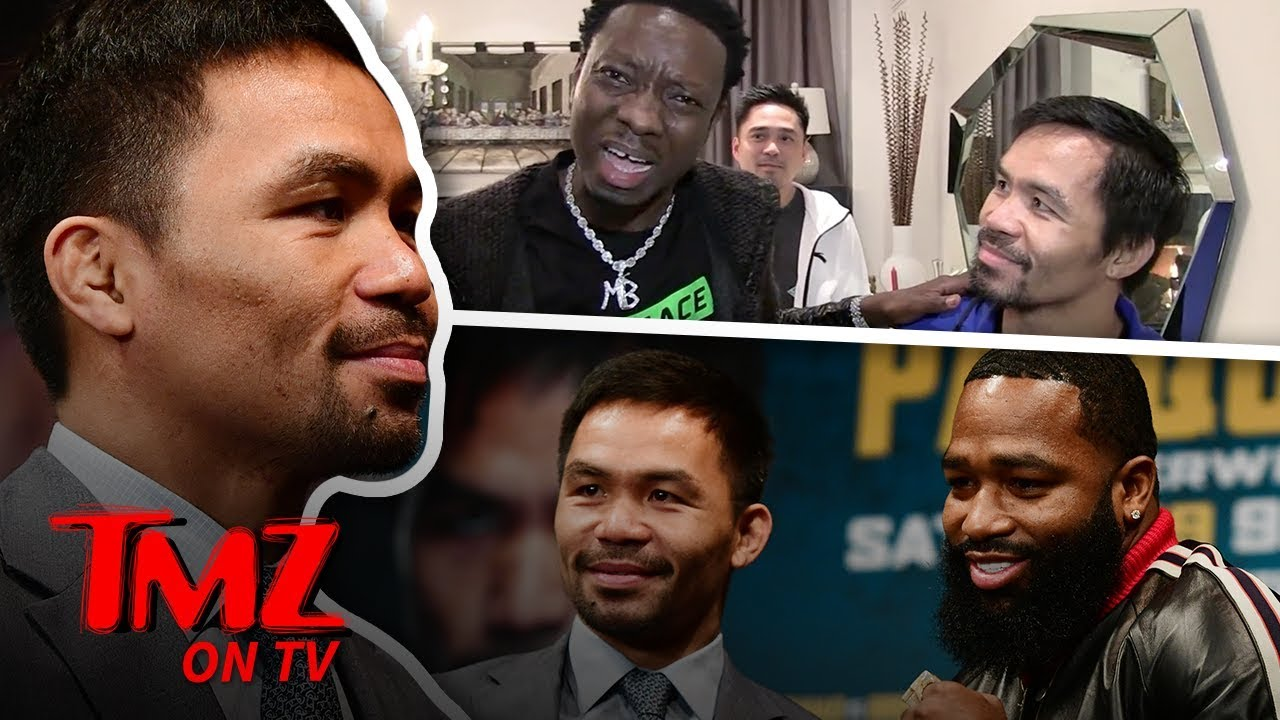 Manny Pacquaio Has The Funniest Translator Ever | TMZ TV 5