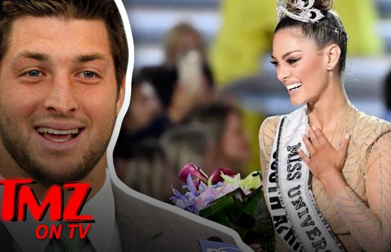 Tim Tebow Engaged to 2017 Miss Universe! | TMZ TV 1