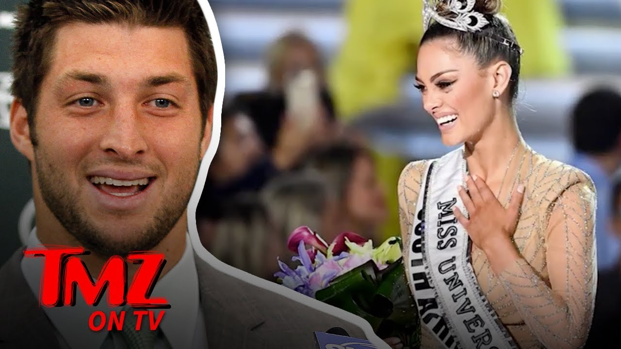 Tim Tebow Engaged to 2017 Miss Universe! | TMZ TV 3