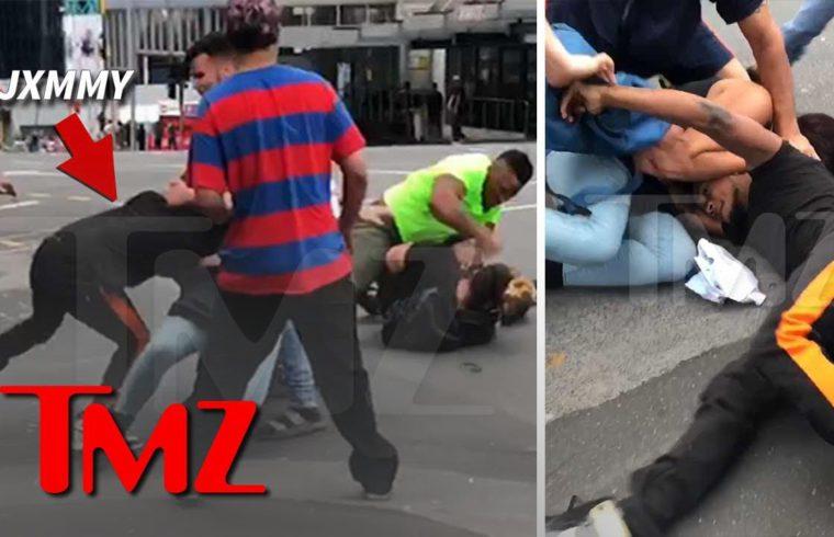 Rae Sremmurd's Slim Jxmmi Involved in Bloody Street Brawl in New Zealand | TMZ 1