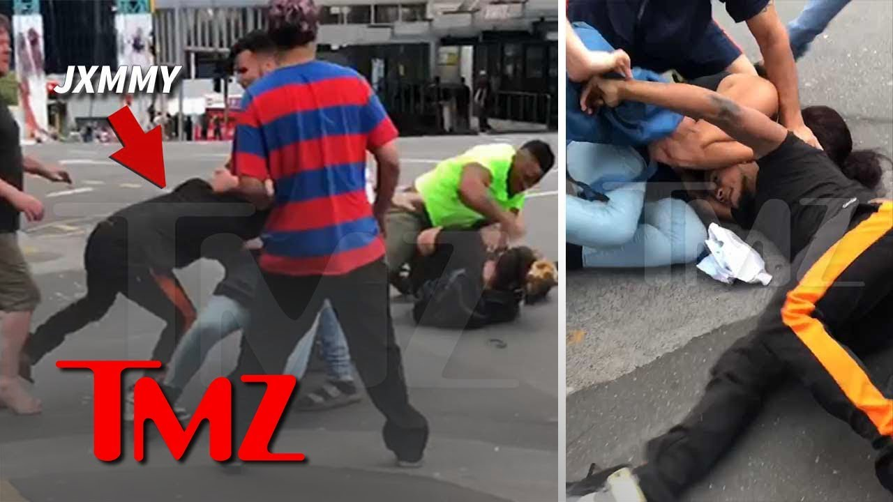 Rae Sremmurd's Slim Jxmmi Involved in Bloody Street Brawl in New Zealand | TMZ 4
