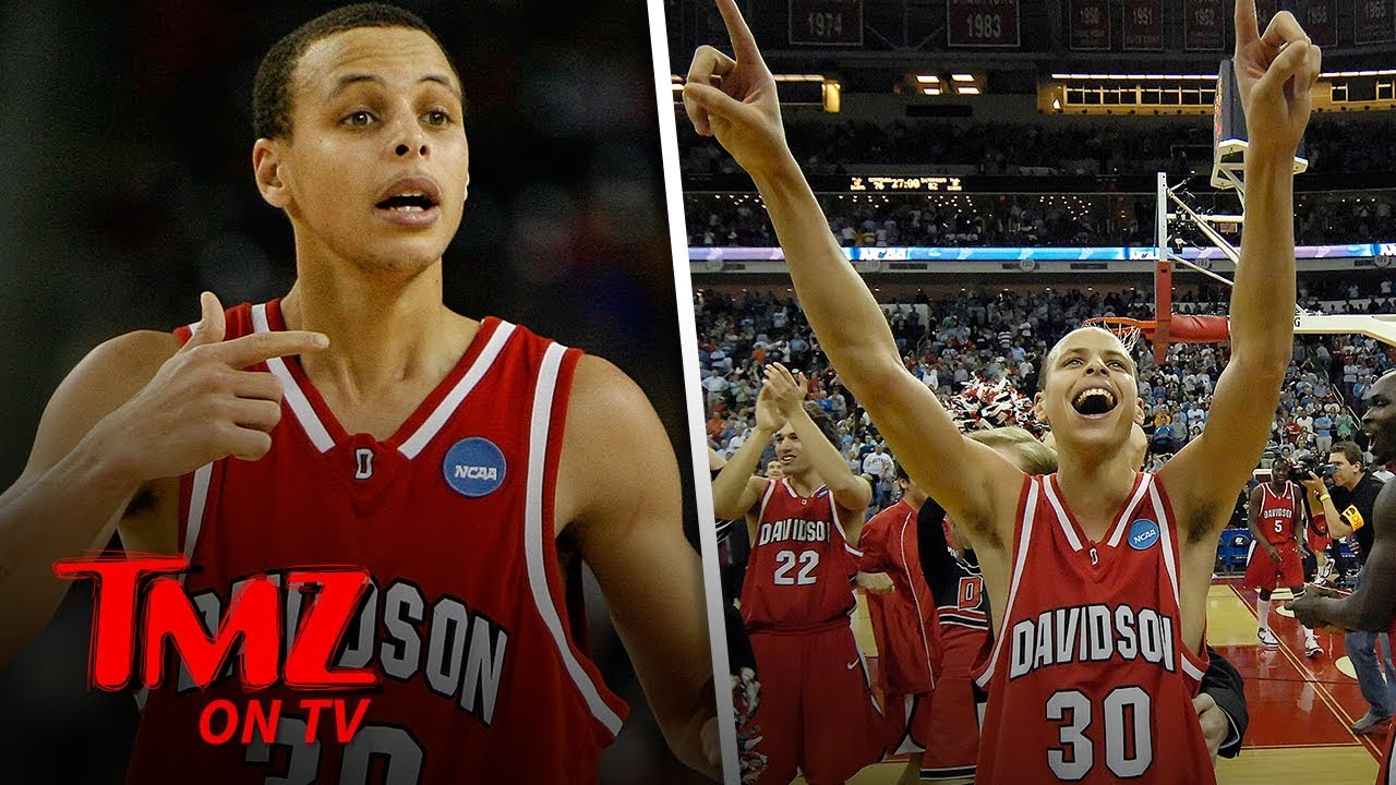 Steph Curry's College Jersey Won't be Retired Until He Graduates | TMZ TV 5