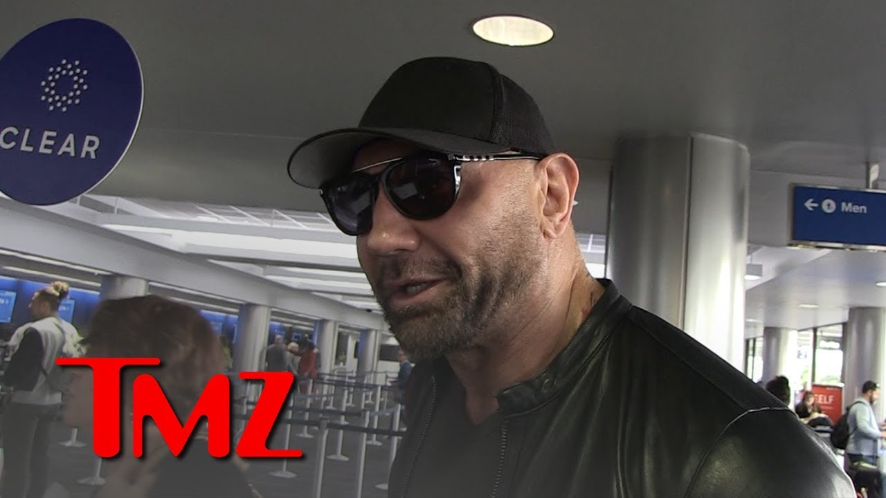 Dave Bautista Wishes Chris Pratt Could be His Son-in-Law | TMZ 3