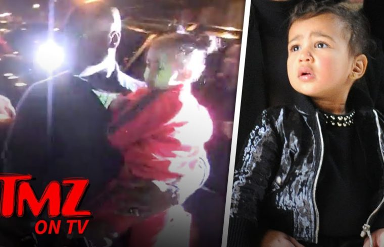 North West Is A Freaking DIVA While Leaving Craig's | TMZ TV 1