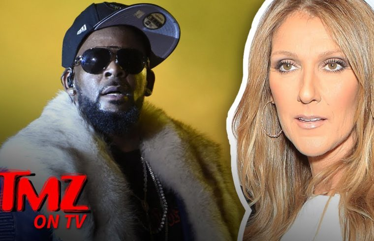 Celine Dion Pulls Song 'I'm Your Angel' with R. Kelly from Streaming Services   TMZ TV 1