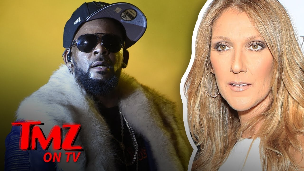 Celine Dion Pulls Song 'I'm Your Angel' with R. Kelly from Streaming Services | TMZ TV 8