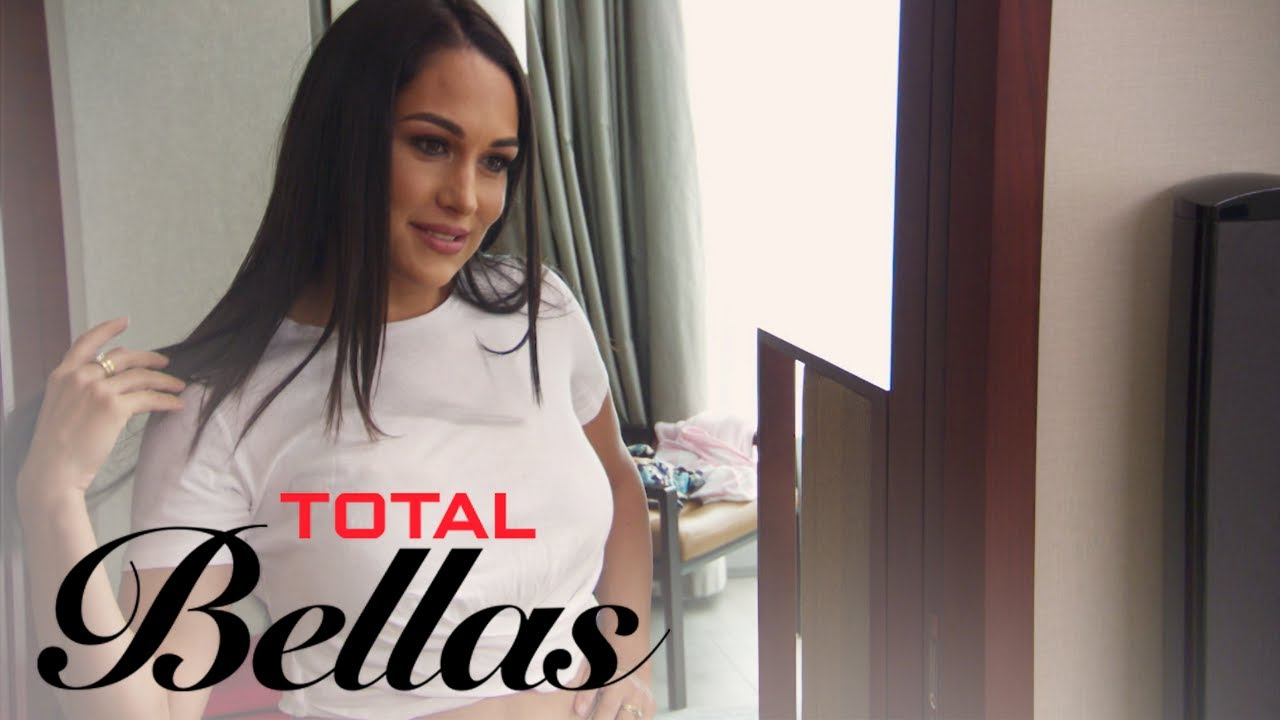 Brie Bella Wears Chicken Cutlets to See If She Wants Bigger Boobs | Total Bellas | E! 3