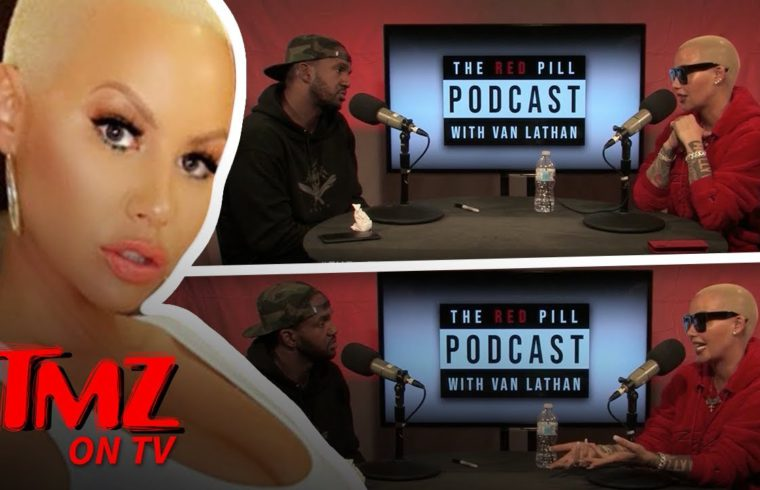 Amber Rose Says She Tried Selling Crack Back in the Day | TMZ TV 1