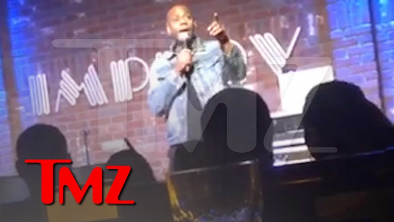 Dave Chappelle Says R. Kelly 'Goons' Threatened Him After 'Piss on You' Skit | TMZ 3