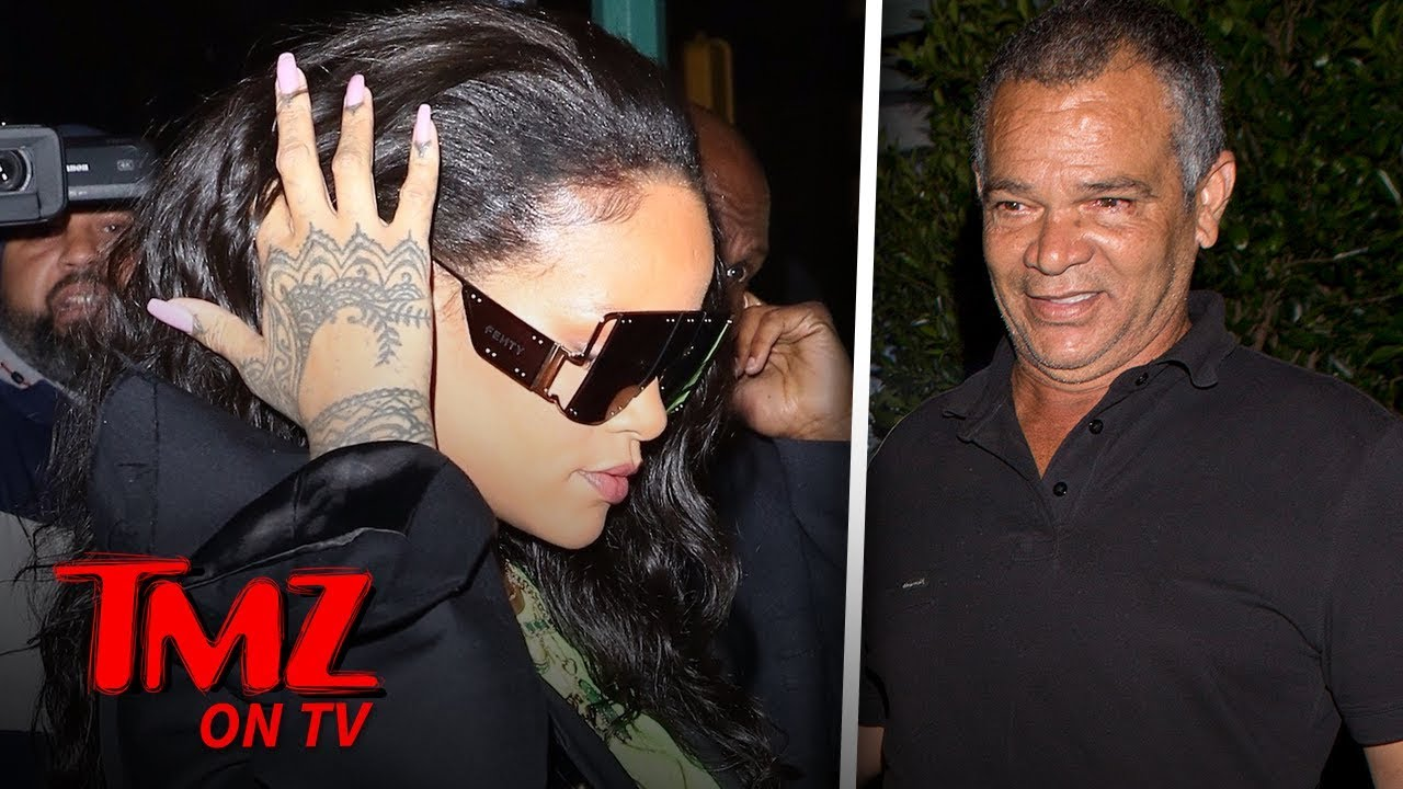 Rihanna Shades Her Father With Shades | TMZ TV 4