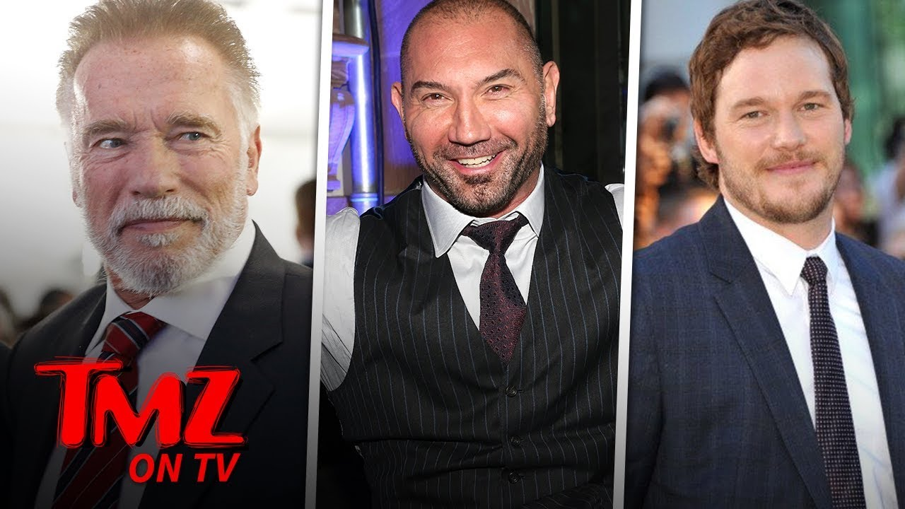 Dave Bautista Says Chris Pratt Doesn't Need Father In Law Advice | TMZ TV 4