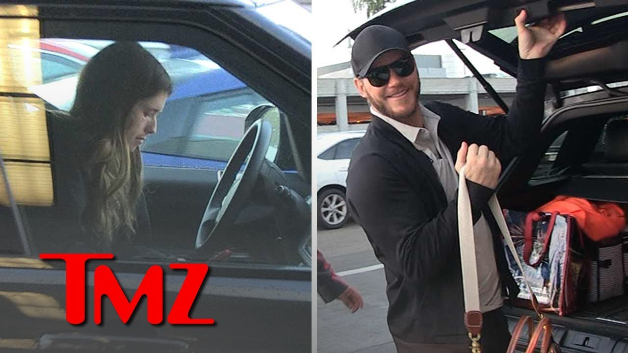 Katherine Schwarzenegger Proves Her Love for Chris Pratt with Airport Run | TMZ 3