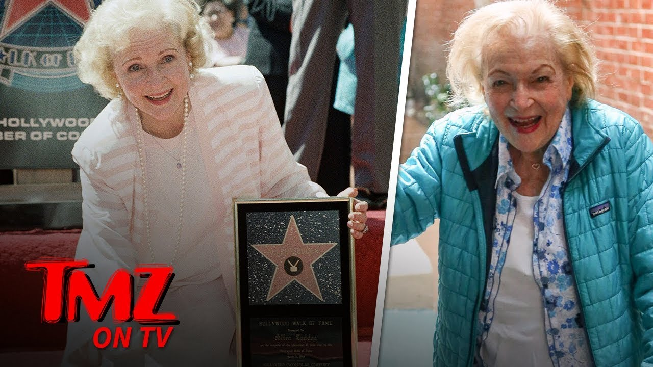 Betty White Celebrating 97th Birthday | TMZ TV 3
